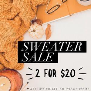 Sweaters - NWT Chunky Cozy Slouchy Boho Sweater Sale!